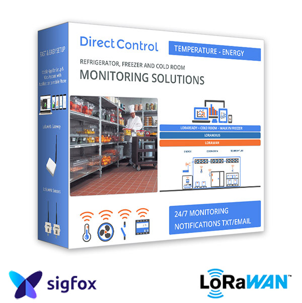 LoRa Sigfox Box Sensors Freezer NZ